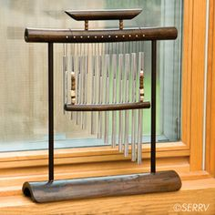 The Kalmado window chime creates a welcoming inviting sound, let the breeze do its part. $33.00