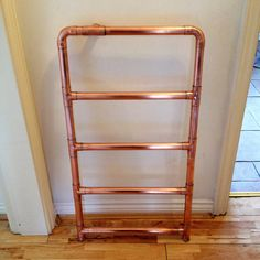 Items similar to heated copper towel rail on Etsy