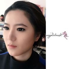 Makeup and Hair on 5.3.16  Day and Night look #angelkikicheng #makeupandhair #makeupartist #hairartist #your_angelskin #angelictouch_makeupandhair #dayandnight #style
