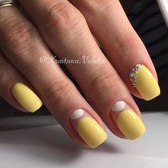 #ногти #маникюр #manicure #nails #стиль #стразы #идеидизайна #красивыеногти #идеально #любовь #лето #мастерманикюра #@juli.kr_nails