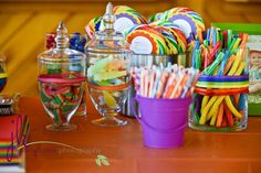rainbow, colors Birthday Party Ideas | Photo 1 of 46