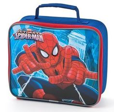 c0e89dc2a6a9 Ultimate  Spiderman  Lunch Bag Getting ready for  backtoschool