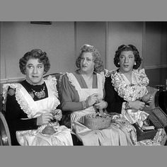 Larry, Moe & Shemp pictured here from Self Made Maids.