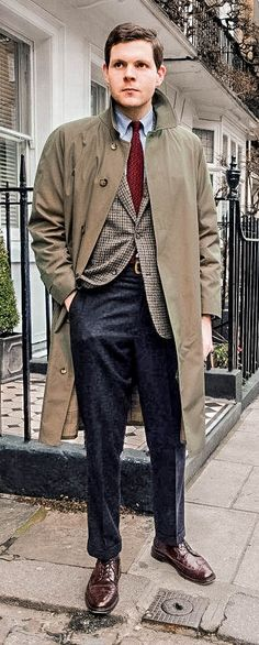 John Simons x Grenfell Raincoat #ivyleague ivy league coat