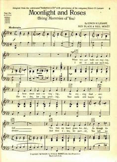 Carol Anne's Boutique: New Images~ Vintage Sheet Music Old Sheet Music, Old Music, Vintage Sheet Music, Vintage Sheets, Piano Music, Vintage Paper, Music Sheets, Vintage Ephemera, Music Paper
