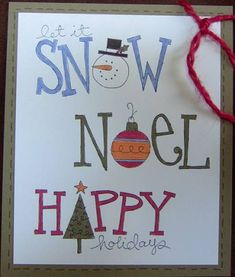 INDEX CARD - Big on Christmas by galleryindex - Cards and Paper Crafts at Splitcoaststampers