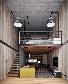Design Loft, Cabin Design, House Design, Interior Styling, Interior Decorating, Interior Design, Interior Ideas, Decorating Ideas, Lofts