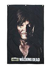 The Walking Dead Daryl Dixon Portrait Banner,