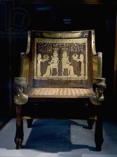 The chair of Princess Sitamun, first born daughter of Amenhotep III and Tiye