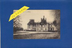 CPA - ALLIERES(41) - LE CHATEAU - 1928