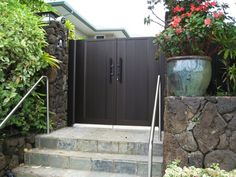 Gate Series — KunkelWorks Front Gate Design, Main Door Design, Front Gates, Entry Gates, Bamboo Light, Iron Doors, Garage Doors, Patio, Gallery