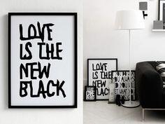 Woonblog black interior 01