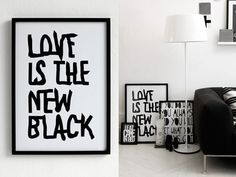 Woonblog black interior 01