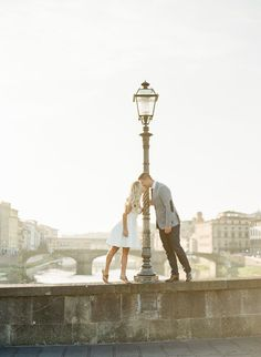 Engagement session in Florence, Italy: Read More on SMP: http://www.stylemepretty.com/2016/09/13/florence-italy-engagement-session/