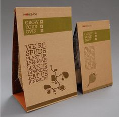 cardboard packages with packets inside