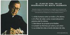 El «plan de vida» en las enseñanzas del fundador del Opus Dei.