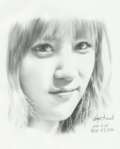 APink ChoRong by @uncleDrawing