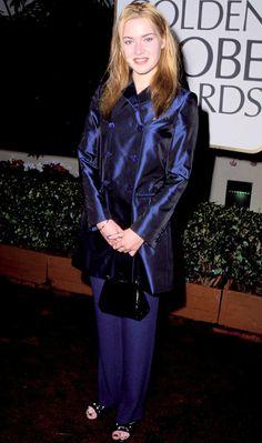 Kate Winslet, 1996 from Stars' First Golden Globes | E! Online