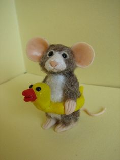 Hey, I found this really awesome Etsy listing at https://www.etsy.com/listing/155869884/cute-polymer-clay-miniature-mouse-ooak