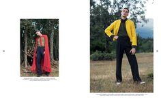 editorial moda hombre glam en un bosque - fotografía Miky Díez
