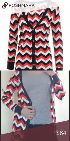 Michael KORS v-neck cardigan Michael KORS v neck red fine knit buttoned cardigan, label xxs but fits XS-S ( 0-2) Michael Kors Sweaters Cardigans