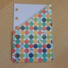 Pocket pouch Insert for Filofax top opening by JustKeepPinning