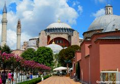 Hagia Sophia in Istanbul! See 7 more not-to-miss places in Istanbul! http://www.huffingtonpost.com/the-gypsynesters/istanbul-travel_b_3990946.html #travel #istanbul #turkey