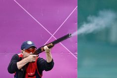 Vincent Hancock    Hancock won the men's skeet shooting gold, his second consecutive Olympic gold medal in the event. The 23-year-old is an Army sergeant — and is an old hand at winning top honors. He won his first world title when he was just 16.