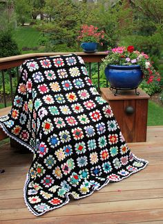 Didn't we all have an afghan like this in the 1970's?