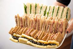 5 Tasty Takes on the Tea Sandwich via Brit + Co.