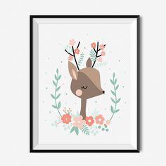 Plakat dla dzieci - Jelonek