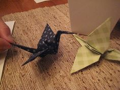Creative Party Ideas by Cheryl: Japanese Sushi Party: origami