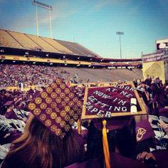 Graduation caps! #grad #caps # awesome @Katie Samuelson  lol