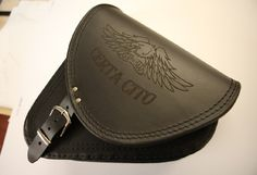 Motif laser engraved onto a motor bike saddle bag Leather Belts, Leather Wallet, Engraved Leather Bracelets, Bike Saddle Bags, Leather Engraving, Engraving Services, Gifts, Presents, Gifs