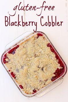 A delicious multi-seasonal treat, this gluten free blackberry cobbler recipe will knock your socks off!