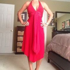 I just discovered this while shopping on Poshmark: Red dress. Check it out!  Size: S