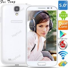 """(FEITENG) H9503 5"""" MTK6572 Android 4.2.2 Dual Core 3G Tri SIM Phone   5MP CAM (512MB RAM   4GB ROM) http://www.tinydeal.com/feiteng-h9503-px250pz-p-108432.html"""