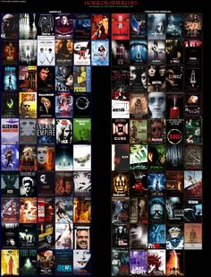 Dark City, Rose Marie, Thriller, Cube, The Cure, Empire, Horror, Photo Wall, Halloween