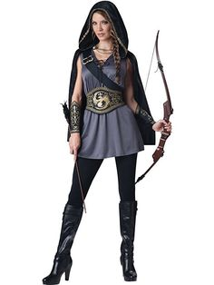 InCharacter Costumes Women's Huntress Costume This is a super cute Women's Halloween Costume. Halloween Costumes like this are the epitome of sexy for Halloween 2018 Sexy Halloween Costumes, Halloween Kostüm, Adult Costumes, Costumes For Women, Cosplay Costumes, Women Halloween, Movie Costumes, Princess Costumes, Holiday Costumes