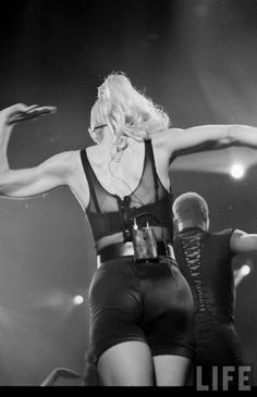 millaciccone:  #Madonna (Blond Ambition Tour, 1990)