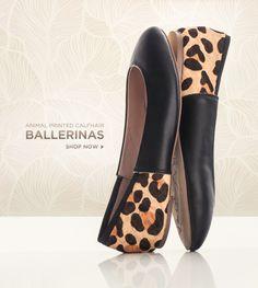 Ballerinas Leopard flats