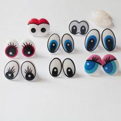 Barato 50 pçs/lote      novo design dos desenhos animados brinquedo segurança olhos de plástico & disco arruela para diy boneca de pelúcia materiais... pode escolher o estilo, Compro Qualidade Bonecas Acessórios diretamente de fornecedores da China: 50 pçs/lote ---- novo design dos desenhos animados brinquedo segurança olhos de plástico & disco arruela para diy boneca de pelúcia materiais... pode escolher o estilo