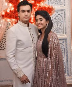 Yeh Rishta Kya Kehlata Hai: Post the custody drama, Kartik and Naira to finally get married in Rajasthan? Cute Celebrities, Indian Celebrities, Celebs, Shivangi Joshi Instagram, Bridal Mehndi Dresses, Kartik And Naira, Indian Photoshoot, Cute Couples Photos, Mohsin Khan