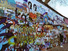 #praga #wall #johnlennon