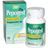 Nature's Way, Pepogest, Enteric-Coated Peppermint Oil, 60 Softgels - iHerb.com