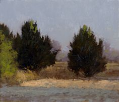 Near Mesilla, 6x7 inches, oil on panel. Marc Bohne