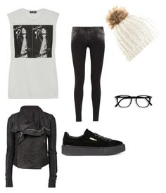 Untitled #2 by carla-maia on Polyvore featuring polyvore fashion style Dolce&Gabbana Rick Owens 7 For All Mankind Puma clothing