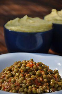 Pea Recipes, Vegetarian Recipes, Healthy Recipes, Romanian Food, Romanian Recipes, Green Peas, Chana Masala, Foodies, Good Food