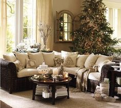 celebrating the holidays! In style.... This is so pretty and  comfy looking <3
