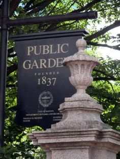 Boston Public Garden - America's Oldest Public Botanical Gardens